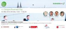 Lernen Sie uns kennen! - z. B. auf dem 4. Cologne Business Day