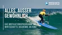 +++ NEWS +++ Neues Motivations-Programm der Wirtschaftsakademie Am Ring